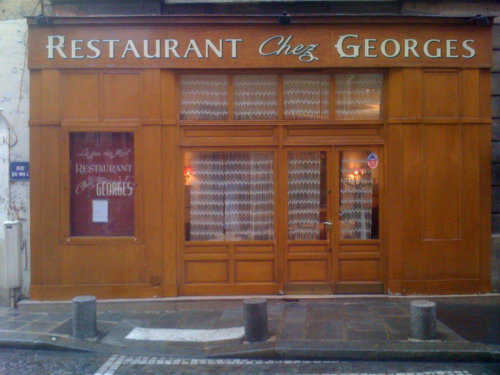 Adhérent CHEZ GEORGES - photo #3199