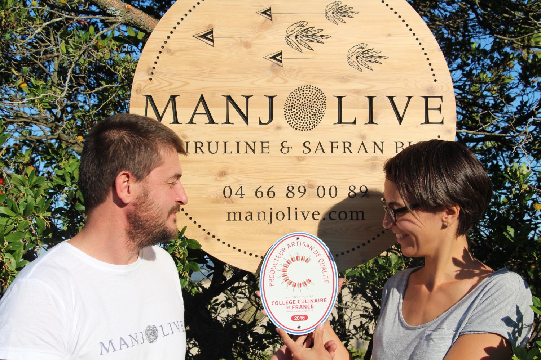 Adhérent MANJOLIVE - SAFRAN & SPIRULINE - photo #7037
