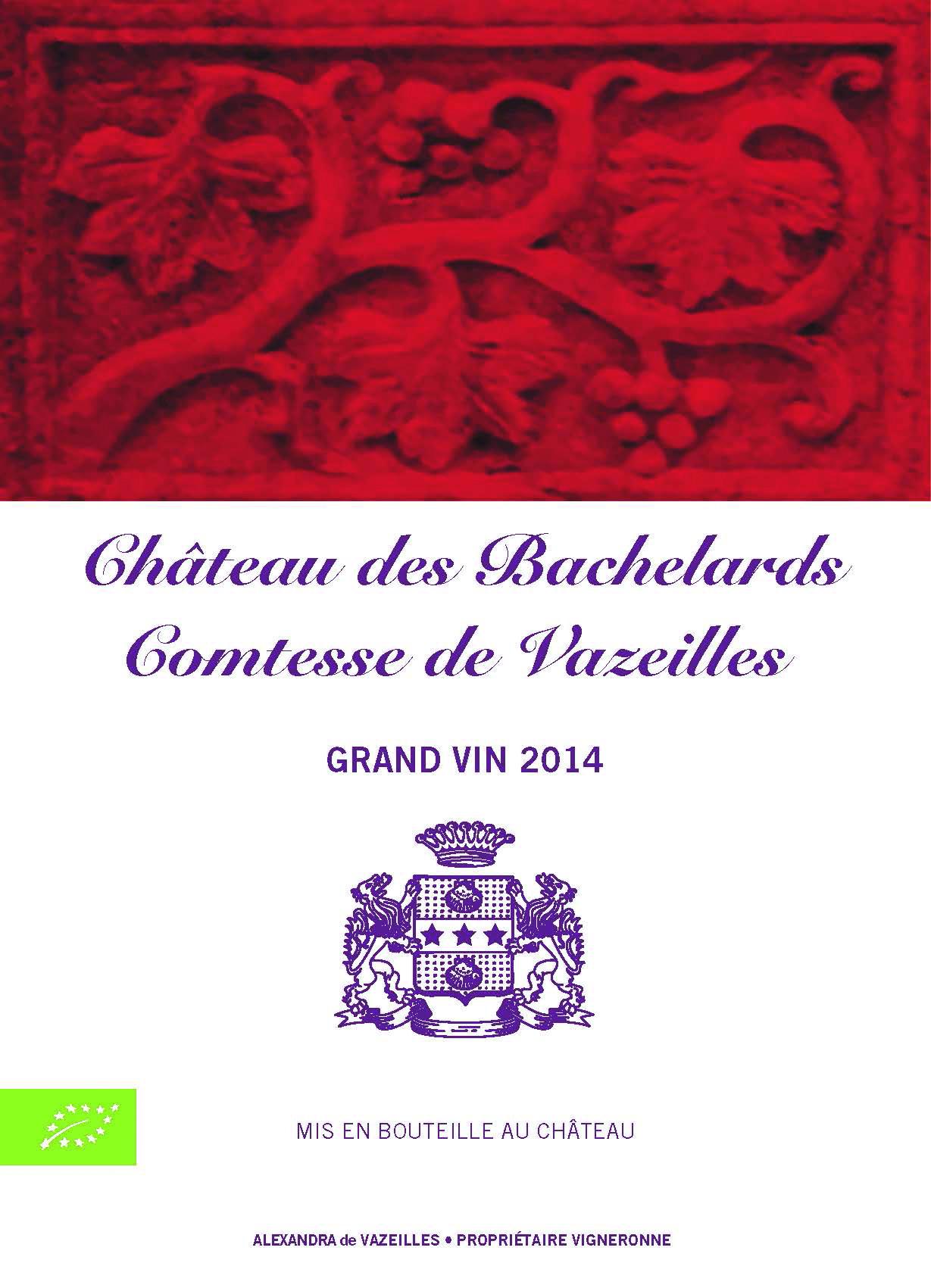 Adhérent CHATEAU DES BACHELARDS I COMTESSE DE VAZEILLES - photo #7928