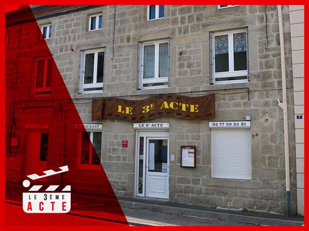 Adhérent RESTAURANT LE 3EME ACTE - photo #9862