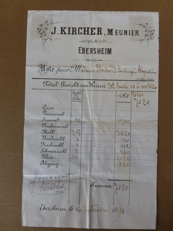 Adhérent MOULIN KIRCHER  - photo #10884