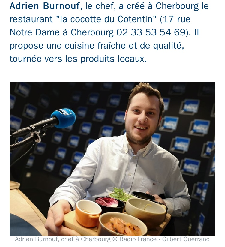 Adhérent LA COCOTTE DU COTENTIN - photo #14994