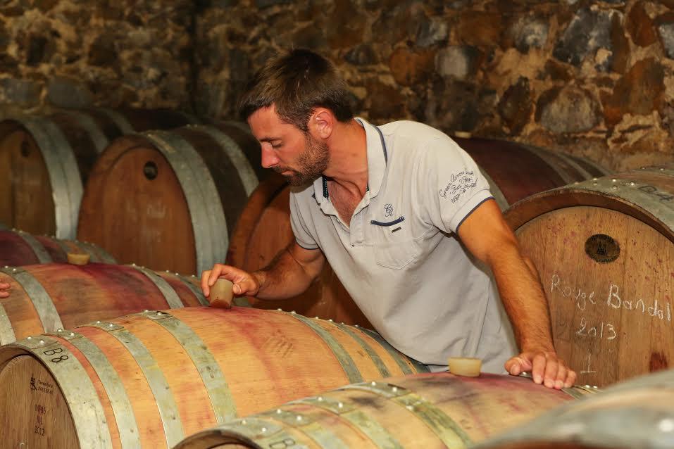 Julien Castell - Vigneron Domaine Castell-Reynoard en Provence