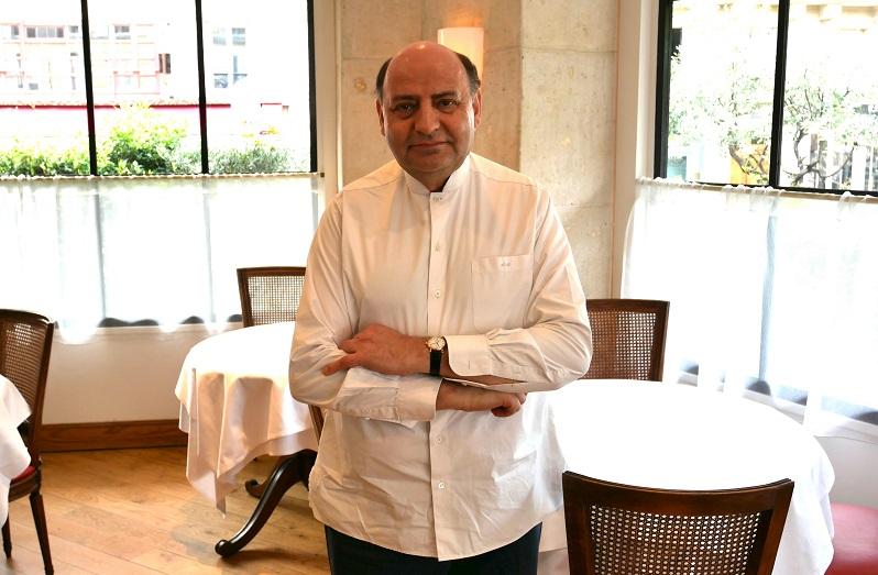 Andreas Mavrommatis, Propriétaire et Chef du Restaurant Mavrommatis à Paris 5ème - A accueilli la Journée d'Echange Nationale 13