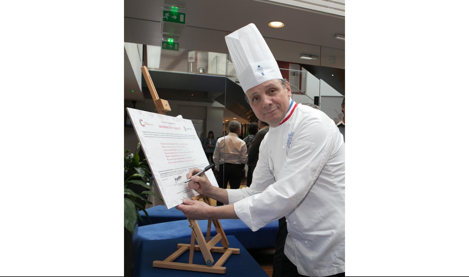 Eric Briffard, Chef Exécutif et Directeur des Arts Culinaires à l'Ecole Le Cordon Bleu Paris