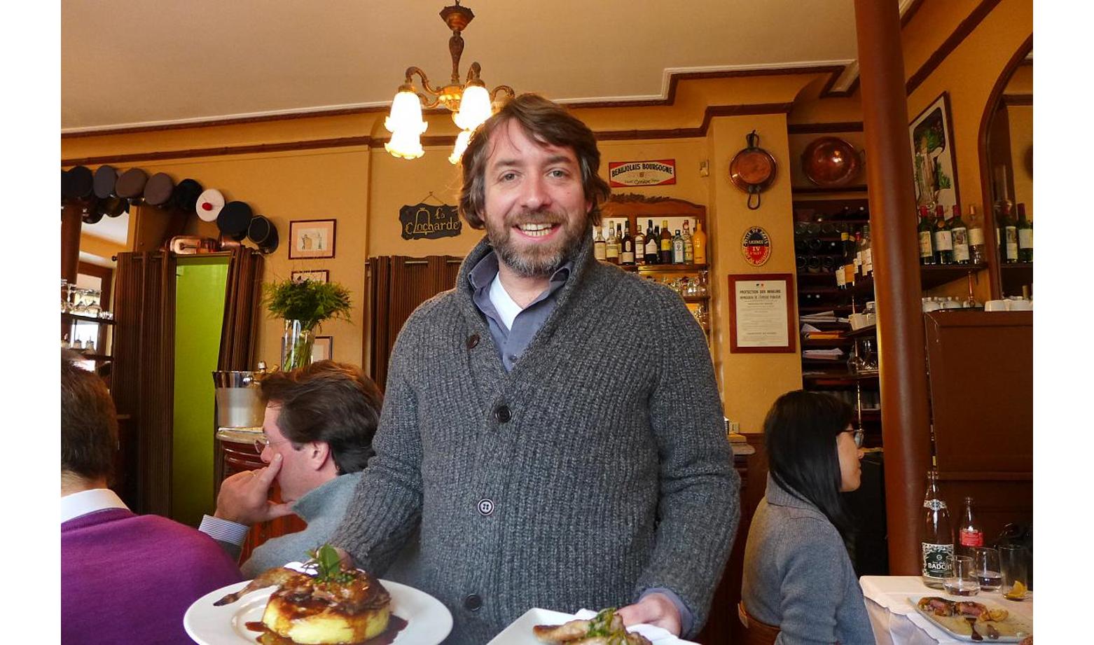 Jean-Gabriel de Bueil, Restaurant de Qualité à Chez Savy, Paris 8