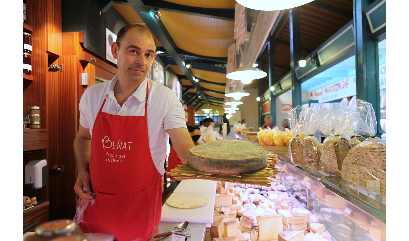 Beñat Moity, Référent Aquitaine et Producteur Artisan de Qualité à Beñat Fromager, Saint-Jean-de-Luz