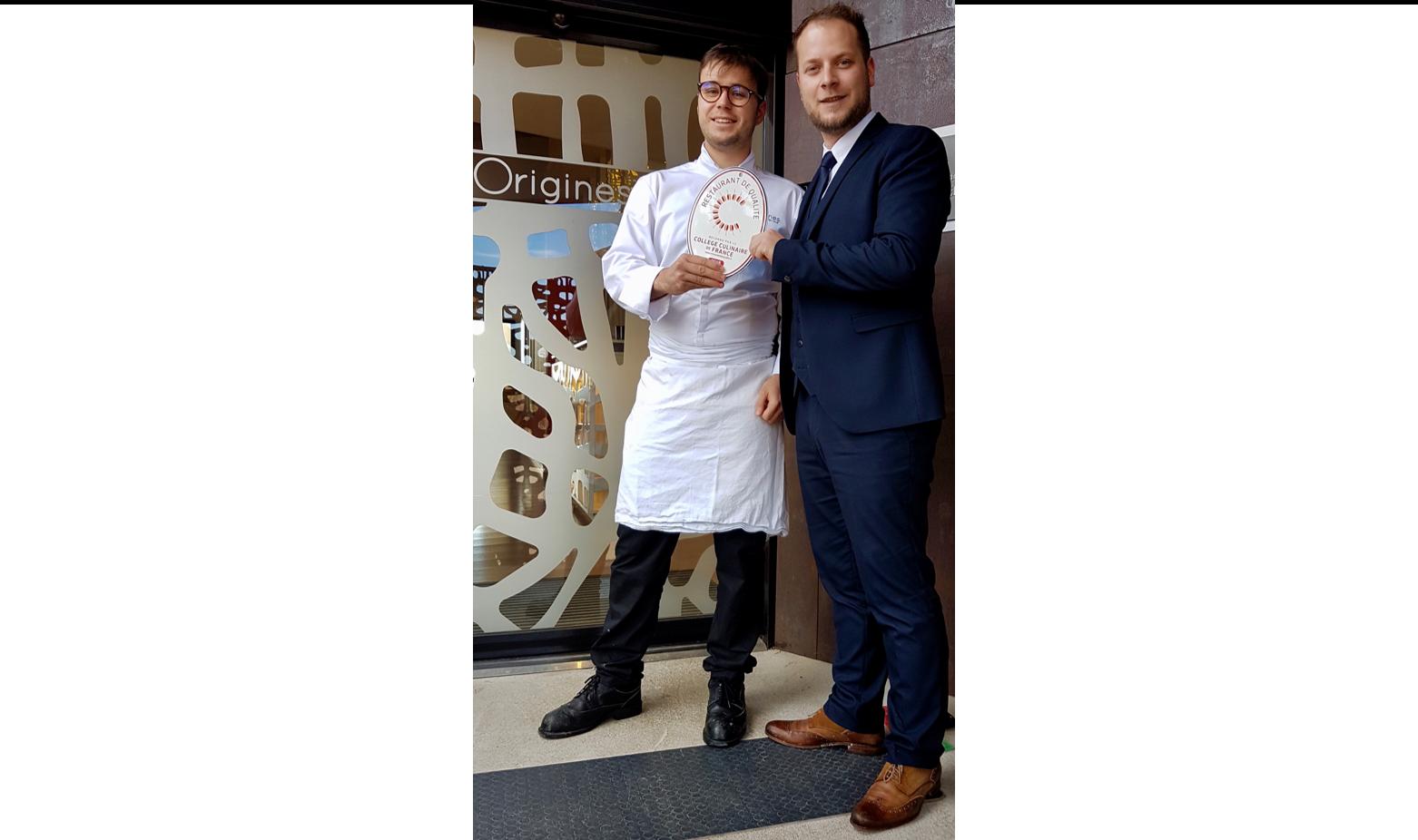 Adrien Descouls et Alex Cronier, Restaurant de Qualité Origines en Auvergne