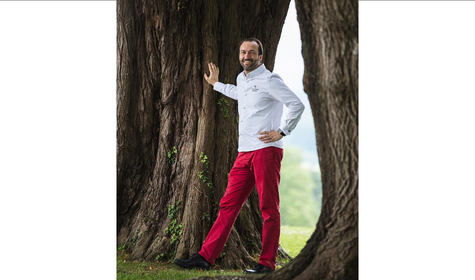 Cédric Béchade, Référent et Restaurant de Qualité à L'Auberge Basque en Aquitaine