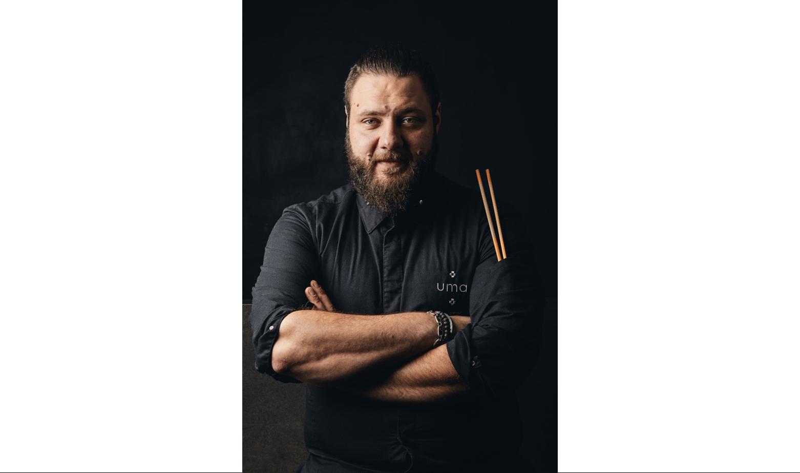 Lucas Felzine, chef du Restaurant de Qualité UMA à Paris 1er